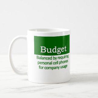 Balanced Budget Definition Basic White Mug