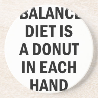 Balanced Diet Coaster