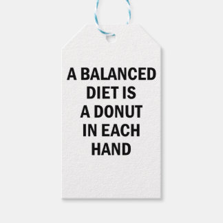 Balanced Diet Gift Tags