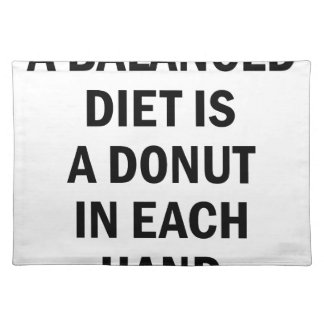 Balanced Diet Placemat