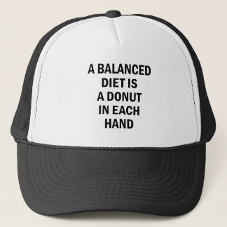 Balanced Diet Trucker Hat