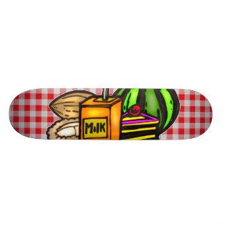 Balanced Meals Custom Skate Board