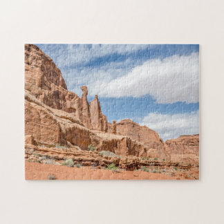 Balanced Rock at Arches National Park Jigsaw Puzzle