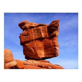 Balanced Rock, Garden of the Gods Postcard