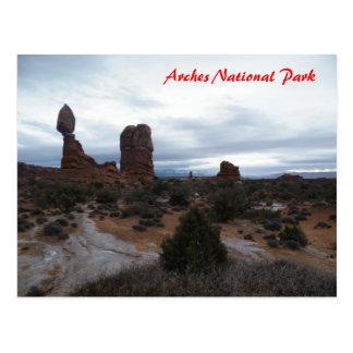 Balanced Rock Postcard