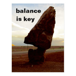 Balanced Rock Postcard