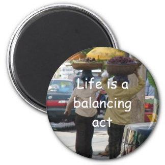 Balancing Act Magnet