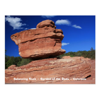 Balancing Rock ~ Colorado Postcard