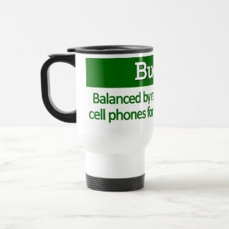 Balancing the Budget Definition Mug