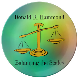 Balancing the Scales Plate