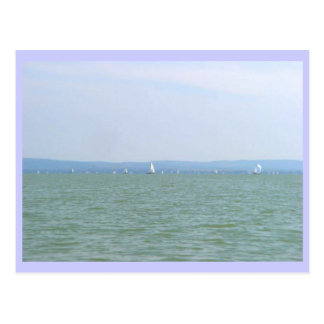 Balaton Regatta Postcard