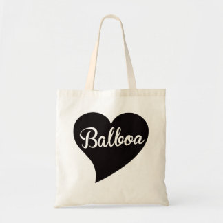 Balboa Big Heart Jade Tote Bag