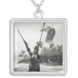 Balboa Claiming Dominion Silver Plated Necklace
