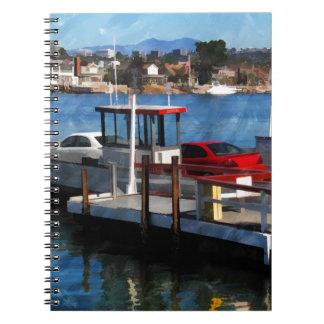 Balboa Ferry Spiral Notebook