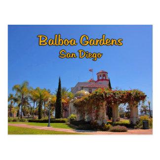Balboa Garden Activity Center San Diego California Postcard
