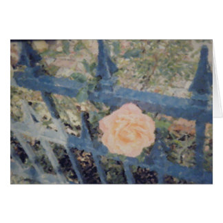 Balboa Island Rose Note Card