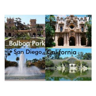 Balboa Park, San Diego, California Postcard