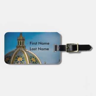 Balboa Park San Diego Dome Star Template Luggage Tag