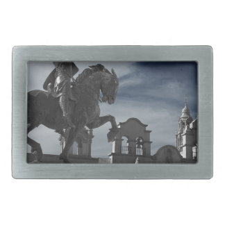 Balboa Park Statue Rectangular Belt Buckles