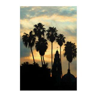Balboa Park Sunset Acrylic Print