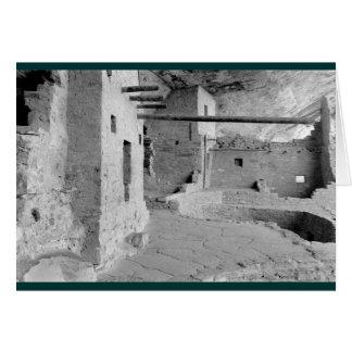 Balcony House, Mesa Verde National Park Card
