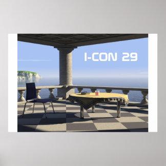 balcony, I-CON 29 Poster