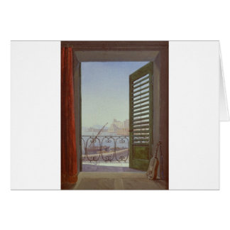 Balcony Room with a View of the Bay of Naples Card