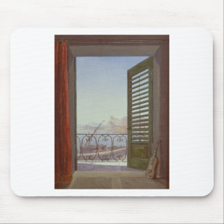 Balcony Room with a View of the Bay of Naples Mouse Pad