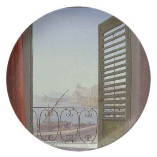 Balcony Room with a View of the Bay of Naples Dinner Plates