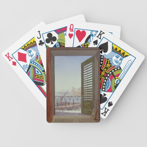 Balcony Room with a View of the Bay of Naples Poker Deck