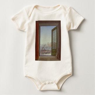 Balcony Room with a View of the Bay of Naples Baby Bodysuits
