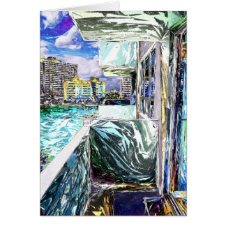 Balcony With A View Greeting Card