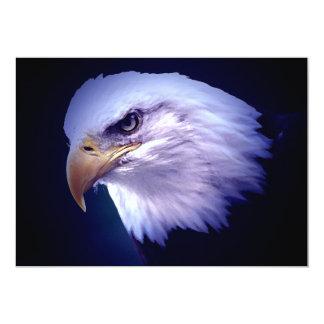"""Bald American Eagle Invitation 5"""" X 7"""" Invitation Card"""