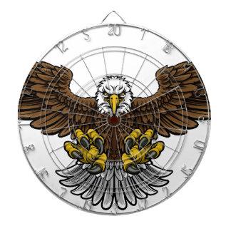 Bald American Eagle Mascot Dartboard