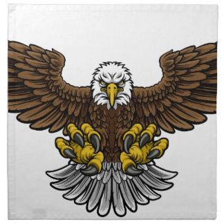 Bald American Eagle Mascot Napkin