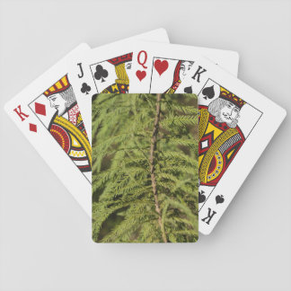 Bald Cypress Branch Playing Cards