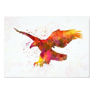 Bald Eagle 01 in watercolor Card