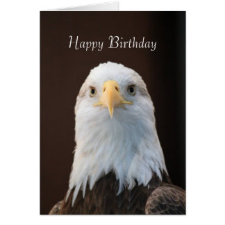 Bald Eagle 3036 Birthday Card