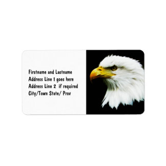Bald Eagle - American Eagle Photograph Address Label