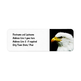 Bald Eagle - American Eagle Photograph Return Address Label