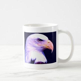 Bald Eagle Basic White Mug