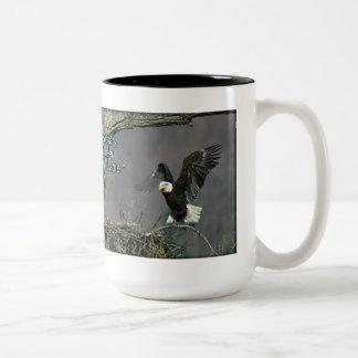 Bald Eagle - Be Kinder Than Necessary Mug