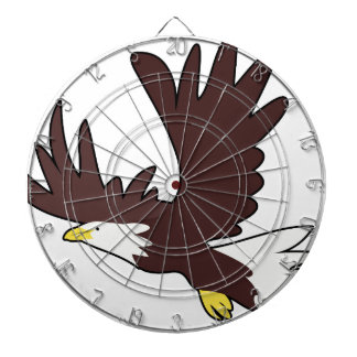 Bald Eagle Cartoon Dartboard