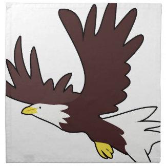 Bald Eagle Cartoon Napkin
