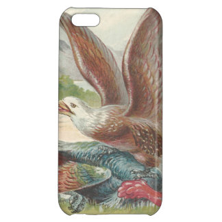 Bald Eagle Catching Thanksgiving Turkey Cover For iPhone 5C