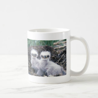 Bald Eagle Chicks Coffee Mug