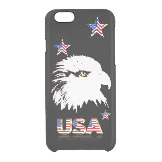 Bald Eagle Clear iPhone 6/6S Case