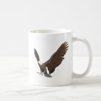 Bald Eagle Coming In For A Landing Coffee Mug