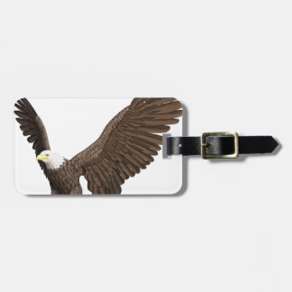 Bald Eagle Coming In For A Landing Luggage Tag