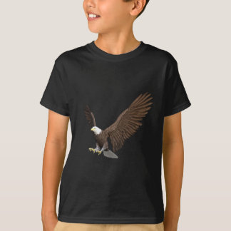 Bald Eagle Coming In For A Landing T-Shirt
